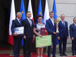 Alicja i Krzysztof Spychalscy z Pikutkowa Mistrzami Krajowymi  Konkursu Agroliga 2016.