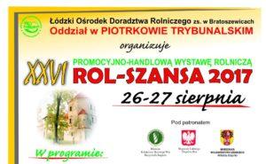 Wystawa Rolnicza ROL-SZANSA 2017
