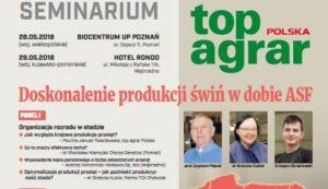 """Seminarium – """"Doskonalenie produkcji świń w dobie ASF"""""""