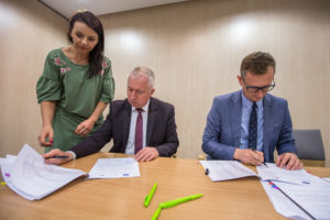 Podpisanie umów na realizację projektów w ramach Planu Działania KSOW na lata 2014-20
