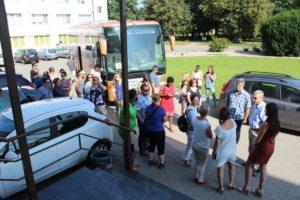 Wizyta gości z Maryland (USA) w KPODR w Minikowie