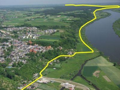 Zdj-trasa z gospodarstwa Lewandowskiego w kierunku Gniewa - autor Z.Stępień