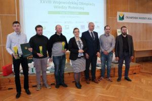 Finał XXVIII Wojewódzkiej Olimpiady Wiedzy Rolniczej