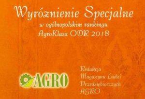 AgroKlasa ODR 2018