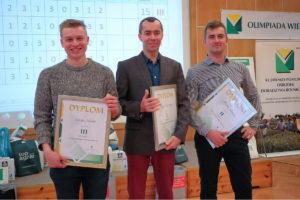 Finał XXIX Wojewódzkiej Olimpiady Wiedzy Rolniczej w Przysieku