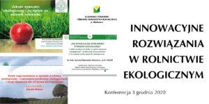 Konferencja – Aktualne trendy i perspektywy dla rolnictwa ekologicznego