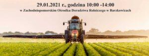 Zapraszamy na warsztaty szkoleniowe – webinarium dla warzywników