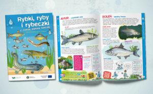 Książeczka edukacyjna o rybach dla dzieci